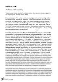 the tempest essay year hsc english advanced thinkswap tempest essay