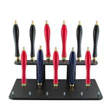 kegworks beer tap handle display stand holds 17 handles