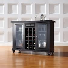 Wine Bar Storage Cabinet Three Posts Shady Dale Bar Cabinet With Wine Storage Reviews