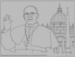 Catholic Coloring Pages Pope And Basilica And Tons Of Other Coloring