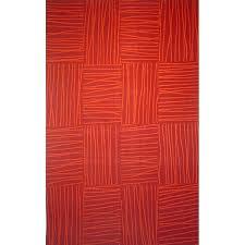 bright red bathroom rugs chopstick tile rug