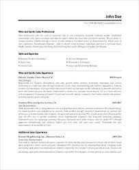 Sales Professional Resume Samples Sales Professional Resume Sample