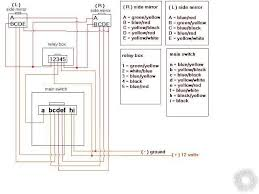 power mirror switch wiring diagram printer friendly posts power folding mirrors hope this helps the wiring diagram d