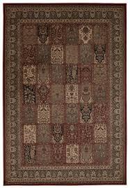 nourison trade ararat burdy area rug