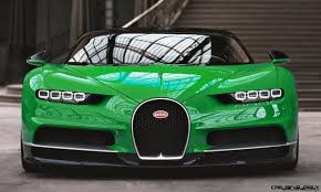The most powerful, fastest and exclusive production super sports car in bugatti's brand history: 2017 Bugatti Chiron Colors Visualizer 50 Shades Of 300mph Boss Car Revs Daily Com