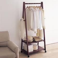 Stylish Coat Racks Creative home Yi wood floor coat rack hanger hanger floor bedroom 12