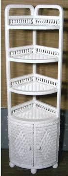 Wicker Corner Shelves White Wicker Corner Shelf Shelf Design Ideas 56