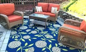 best outdoor rug for deck blue outdoor carpet outdoor rug over wood deck