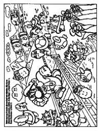 Kleurplaten Paradijs Kleurboek Super Mario Bros Spelletjesboek