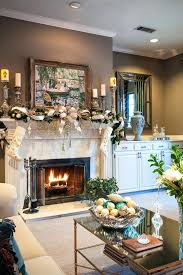 decorating ideas for living room with brown walls sofa color grey white fireplace mantel traditional kids