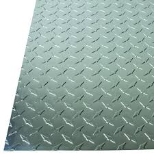 home depot metal sheet m d building products 12 in x 24 in x 0 025 in diamond tread