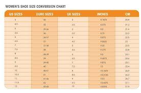 50 Paradigmatic Women Shoe Size Chart Conversion To Children