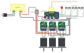 s www probotix com diagrams 3 axis_probostep_wiring_dia jpg cnc machine electrical diagram at Ox Cnc Wiring Diagram