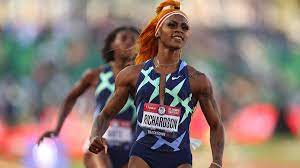 Sha'Carri Richardson, U.S. sprinter ...