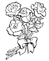 coloring page roses nature 110 printable coloring pages