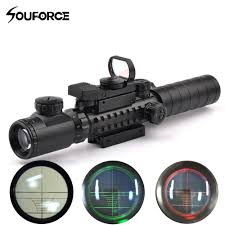 Bsa Red Dot Laser Light Combo Tactical Scope Combo 3 9x32yg Riflescope With Long Range Red