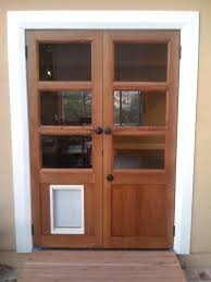 exterior door with dog door. doors, dog door for french doors exterior with pre installed solid wood