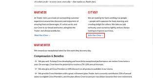 Trader Joes Job Application Adobe Pdf Apply Online