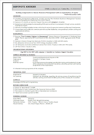 Resume Sample International Human Resource Executive resume KohmdnsFree  Examples Resume And Paper