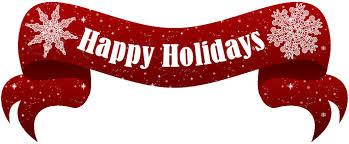 happy holidays banner free.  Holidays Free Icons Png Happy Holidays Text Banner Png Inside N