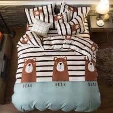 drop 2 3 4pcs king size bedding sets family set include bed sheet duvet cover pillowcase
