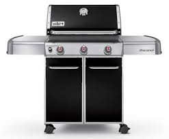weber genesis 6511001 e 310 liquid propane gas grill in black