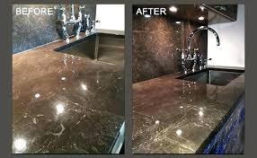 stained marble countertops counter