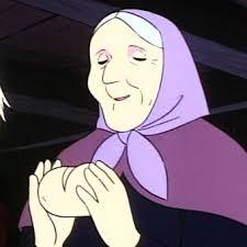 「アルプスの少女ハイジ おばさん 白パン」の画像検索結果