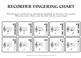 How To Play The Recorder Finger Chart Pin On Learn To Play The Recorder