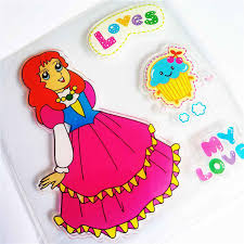 <b>Colorful</b> Dress doll <b>girl Transparent Clear</b> Stamps / <b>Silicone</b> Seals ...
