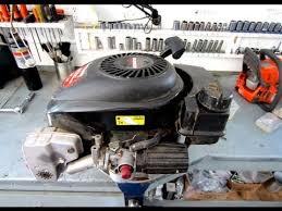 Carburetor Linkage Configuration On Tecumseh Lawnmower Engine - YouTube