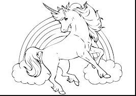 Colouring Pictures Of Baby Unicorns Cute Unicorn Coloring Pages