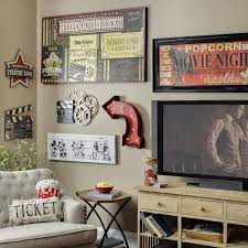 themed living room decor themed living room ideas best of wall on hollywood wall