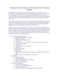 grant proposal template affordablecarecat template for developing a defendable grant proposal budget 4d6zautg