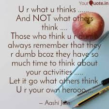 Diet Quotes New U R What U Thinks Quotes Writings By Aashi Jain