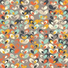 seamless vintage wallpaper pattern orange. Brilliant Seamless Midcentury Geometric Retro Background Vintage Brown Orange And Teal  Colors Seamless Floral Mod To Wallpaper Pattern Orange P