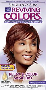 Softsheen Carson Dark And Lovely Reviving Colors Nourishing Color Shine Spiced Auburn 393