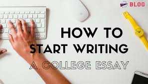 Writing The College Essay