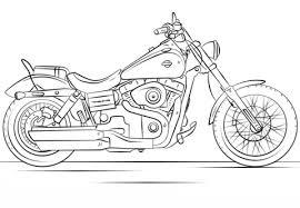 Motor Kleurplaat