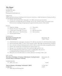 Resume For Radiologic Technologist Fascinating Radiographer Resume Technologist Resume Sample Free Download Eager44