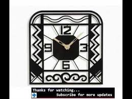 Small Picture Wall Clocks Art Deco Wall Clock Designs YouTube