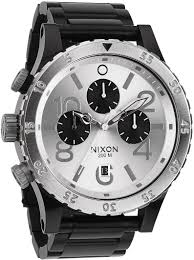 men stunning nixon watches men time teller watch black blue splendid nixon watches on men chrono watch black silver large size