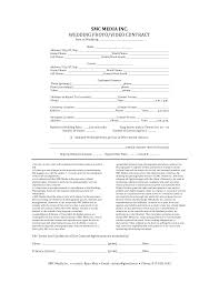 Sample Contract For Photography Services - Tier.brianhenry.co