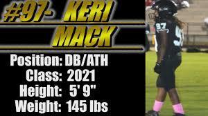 2021-Street Light Recruiting- DB/ATH-Keri Mack (McAdory High School)  -McCalla, AL - YouTube