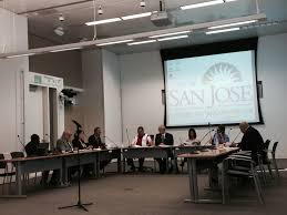 Round Table Capitol Expressway San Jose City Council Members Bulldoze Their Colleagues While