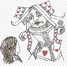 alice s adventures in wonderland queen of hearts red queen through the looking gl and what alice found there alice in wonderland