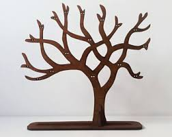 Jewelry Tree / Earring Holder / Wooden Jewelry Tree / Jewelry Stand / Gift  for any