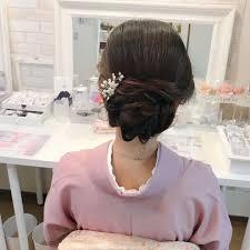 Moriyama Mamiさんのヘアスタイル レンタル着物ご利用のお客様