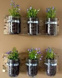 easy diy indoor garden mason jar planter for under five bucks put it in a adore diy hanging mason