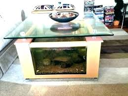 fish coffee table tank stand